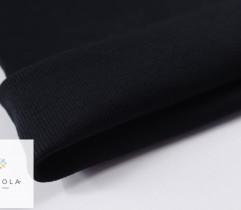 Ściągacz bawełniany czarny prążek rękaw 65 cm