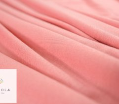 Knitted Viscose salmon pink