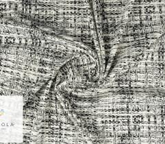 Punto nylon czarno-białe kwadraty