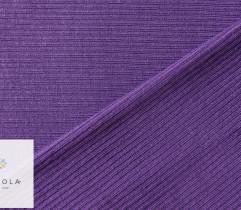 Ściągacz wiskozowy fiolet prążek 125 cm