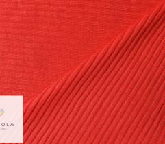 Ściągacz wiskozowy czerwony prążek 90 cm