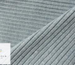 Ściągacz bawełniany błękit melange 90 cm