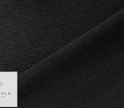 Ściągacz wiskozowy gruby czarny prążek 55 cm