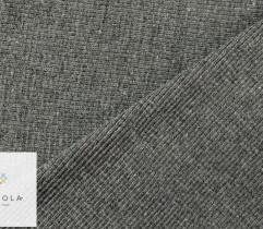 Ściągacz bawełniany ciemny szary 90 cm