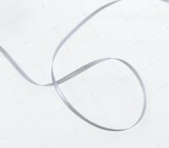 Wstążka atłasowa szara 3,5 mm (510)