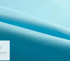 Tkanina obrusowa błękitna