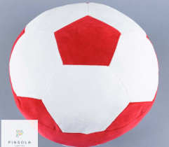 Wykrój poduszki ala piłka nożna - wydruk wielkoformatowy