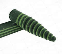 Knit welt 100 cm/ 6,5 cm shades of green (2798)