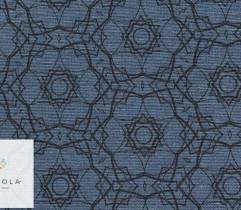 Tkanina bawełniana mandala granatowy (2786)
