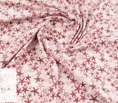 Jersey single rozgwiazdy na różowym tle
