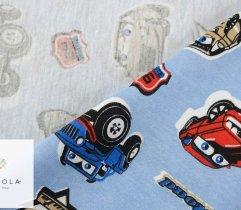 Jersey auta na niebieskim