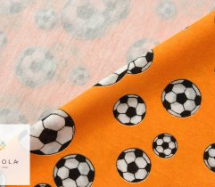 Jersey piłki na pomarańczowym