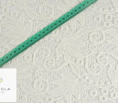 Koronka ecru liście 150 cm