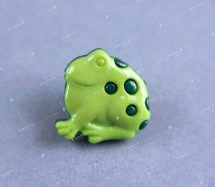 Guzik dziecięcy żaba