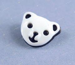 Guzik dziecięcy panda