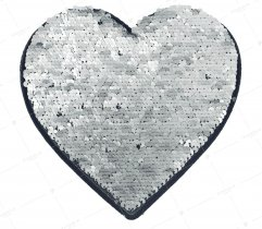 Aplikacja cekiny serce (2916)