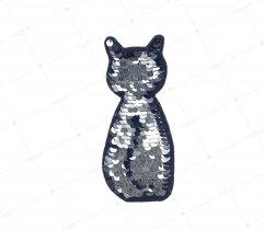 Aplikacja cekiny kotek (2920)