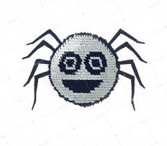 Aplikacja cekiny pająk (2971)