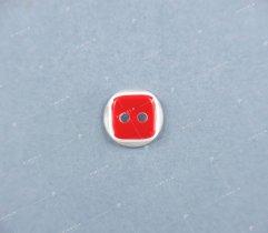 Guzik #6 czerwony (2950)