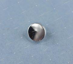 Guzik #3 mały srebrny (2946)