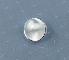 Guzik #3 srebrny (2945)