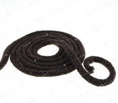 Sznurek bawełniany - ciemno brązowy  (3098)