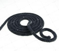 Sznurek bawełniany - ciemno szary  (3090)