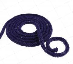 Sznurek bawełniany - ciemny wrzos  (3095)