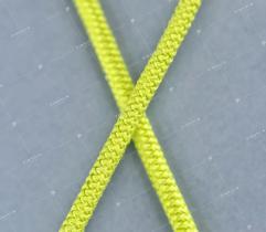 Guma okrągła 2mm limonka (3129)