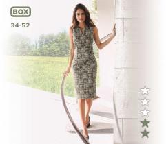Wykrój sukienki Dominika 34-52 wydruk wielkoformatowy i surowce