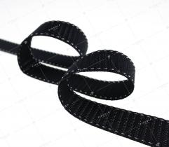 Webbing 25mm black (3113)