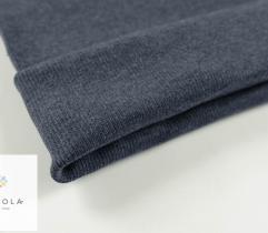Ściągacz 55cm rękaw -  melanż jeans