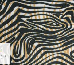 Barbie marchiano czarno-złote pasy zebry