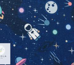 Tkanina poliestrowa - kosmos