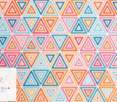 Ściągacz 150cm - wielobarwne trójkąty