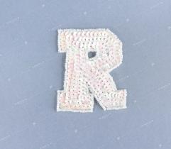 Naszywka 'R' cekiny (3355)
