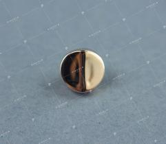 Button 1 cm gold (3362)