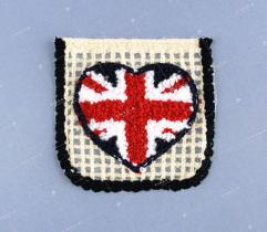 Kieszonka serce Union Jack (3353)