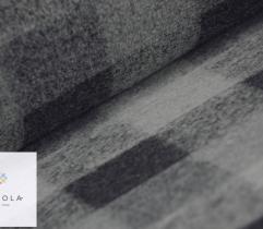 Wool - grey check