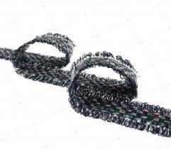 Tape braided 3cm green (3348)