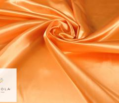 Tkanina dekoracyjna atłasowa - pomarańczowa