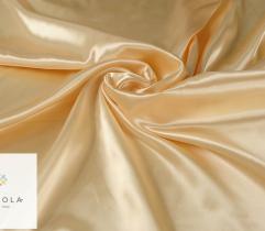 Tkanina dekoracyjna atłasowa - złota jasna