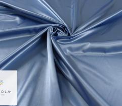 Tkanina dekoracyjna atłasowa - błękitna
