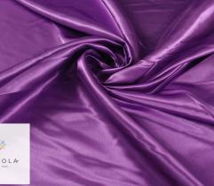 Tkanina dekoracyjna atłasowa - fioletowa