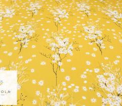Barbie marchiano Białe kwiaty na żółtym