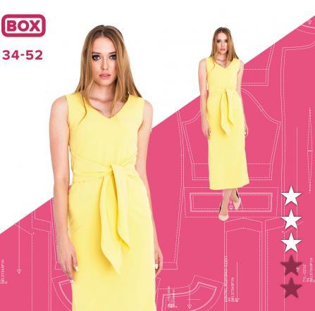 058934e0 Sukienka Klaudia 34-52 wydruk wielkoformatowy i surowce | Pinsola