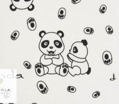 Bawełna T-shirt pandy LOVE