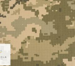 Woven Rip-stop pixel camouflage ACU