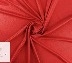 Dzianina Lurex z metalową nitką - czerwona