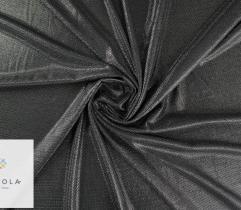 Dzianina Lurex z metalową nitką - grafitowa